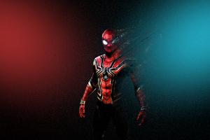 Spider Man Turns Into Dust Wallpaper