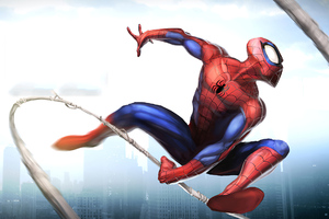 Spider Man Unlimited Art