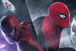 Spider Man V Miles Spider Wallpaper