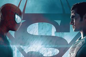 Spider Man Vs Superman 4k