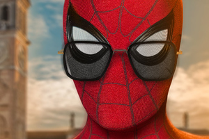 Spider Man Wearing Tony Glasses