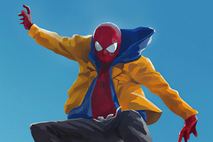 Spider Man Yellow Jacket