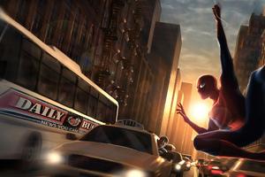 Spider Manhattan Henge 4k