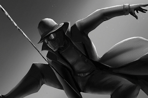 Spider Noir Art