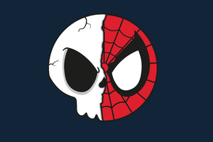 Spider Skull Wallpaper