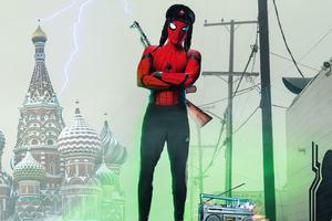 Spider Slav Concept Poster 4k Wallpaper