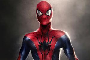 Spider Suit 4k Wallpaper