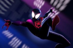 Spider Verse 4k Artwork Wallpaper