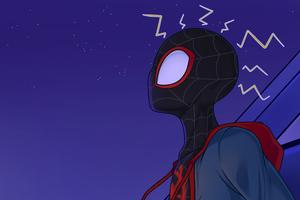 Spider Verse 4k New Art Wallpaper