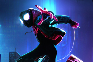 Spider Verse 4k Newart Wallpaper