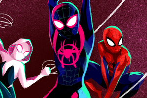 Spider Verse Anyone Can Wear The Mask