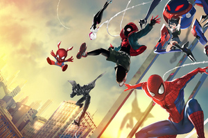 Spider Verse Art New