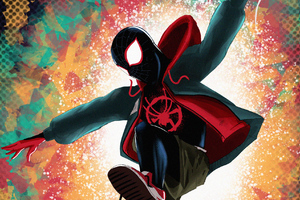Spider Verse Artworks