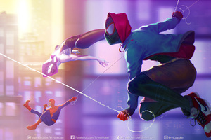 Spider Verse HD Wallpaper