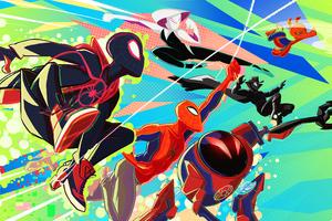 Spider Verse Heroes 4k