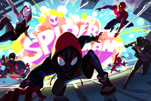 Spider Verse Heroes Action