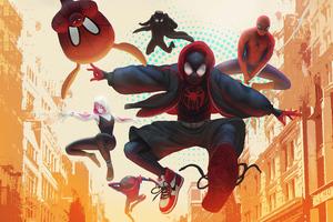 Spider Verse Heroes4k
