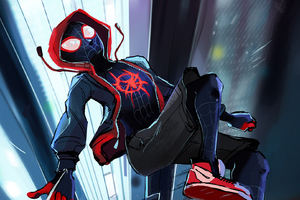 Spider Verse Latest Artwork Wallpaper