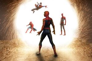 Spider Verse Mcu Comic Art 4k