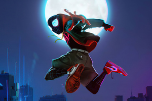 Spider Verse Miles 2020 Wallpaper