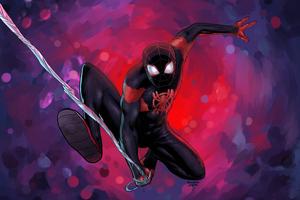 Spider Verse Miles Morales 4k Wallpaper