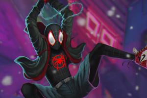 Spider Verse Miles Morales