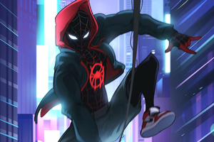 Spider Verse New Art