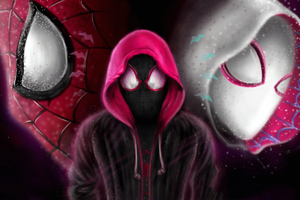 Spider Verse New Arts