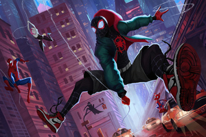 Spider Verse New York