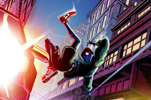 Spider Verse Spider Man Art Wallpaper