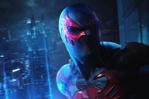 Spider Verse Spiderman 2077 Wallpaper