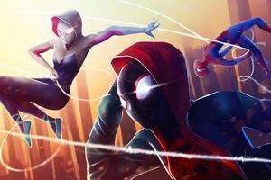 Spider Verse Superheroes
