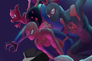 Spider Verse Team Art