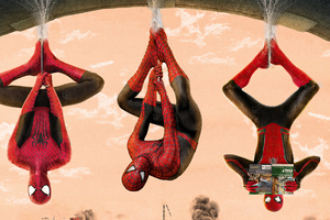 Spider Verse Tobey Maguire Tom Holland Andrew Garfield Wallpaper