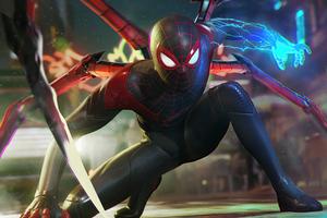 Spiderman 2 2021 Wallpaper