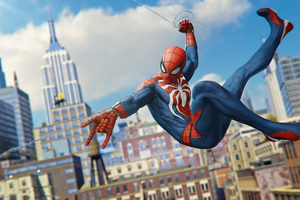 Spiderman 2018 Ps4 Game 4k