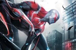 Spiderman 2099 5k