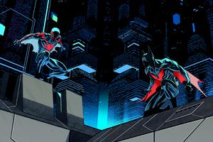 Spiderman 2099 And Batman