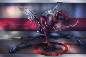 Spiderman 2099 Art