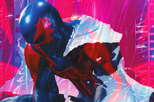 Spiderman 2099 Noir 4k Wallpaper