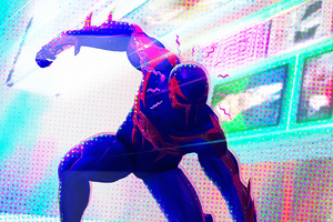 Spiderman 2099 Spider Verse 2 Wallpaper