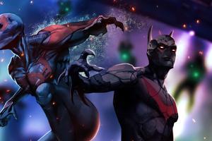 Spiderman 2099 X Batman Beyond
