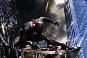 Spiderman 4k Black Suit