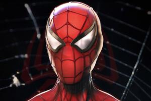 Spiderman 4k Closeup