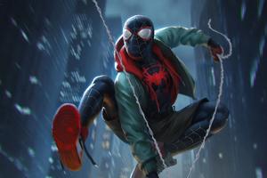 Spiderman 4k Miles Wallpaper