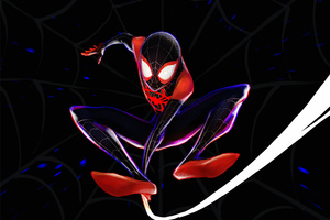 Spiderman 4k Miles Morales Art Wallpaper