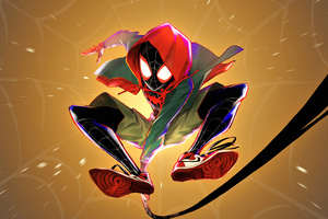 Spiderman 4k Miles Morales Artwork Wallpaper