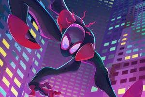 Spiderman 4k Miles New Wallpaper