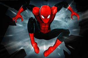 Spiderman 4k New Art