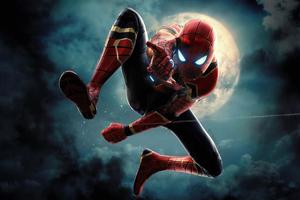Spiderman 4k Newartwork